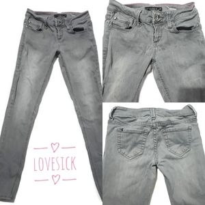 Womens | Junior Size 3, Love Sick Brand, Grey Wash